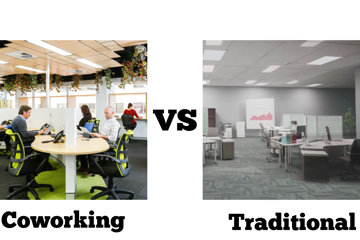 Coworking vs Traditional Office Leasing - blog post image