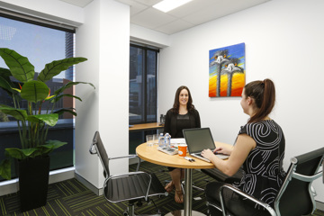 Meeting rooms in coworking spaces - blog post image